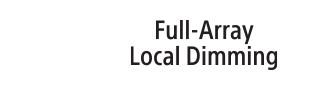 Logo for Full Array Local Dimming