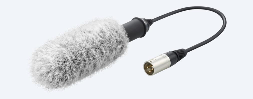 Sony XLR K2M adapterpakke og mikrofon Få bedre lydopptak