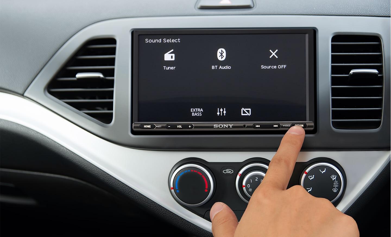 XAV-AX3005DB-knappekontroller