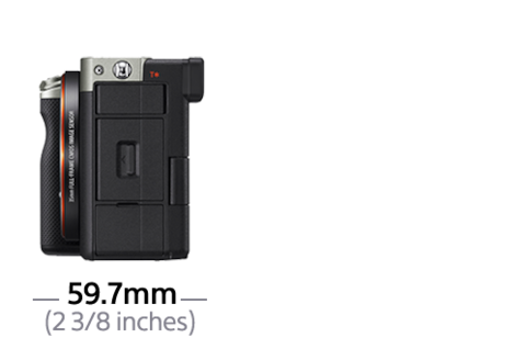 Bilde av α7C kompakt fullformatkamera