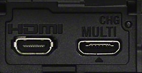 HDMI® og multiterminal