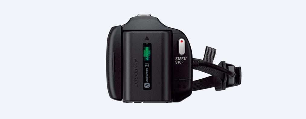 SONY HDRCX450B camcorder HD EXMOR R CMOS SENSOR black | A