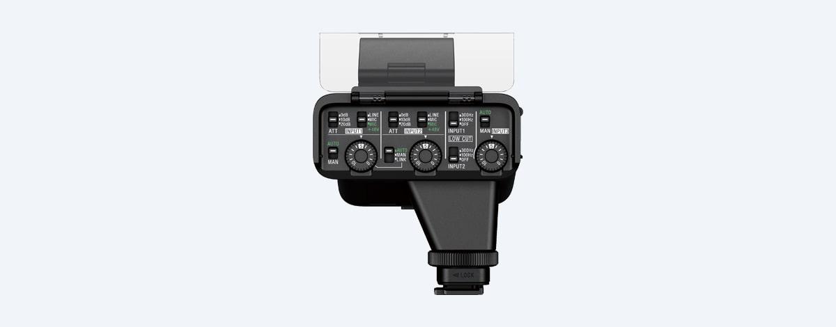 Sony XLR K3M XLR Adaptersett m Shotgun mikrofon   CEWE