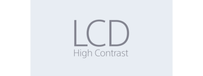 LCD High Contrast-ikon