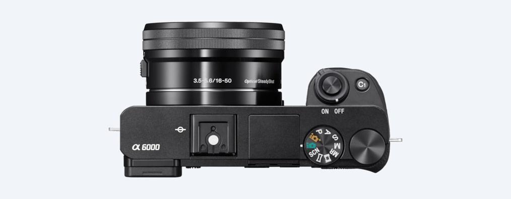 Hybridkamera | Kamera med utskiftbare objektiver – a6000