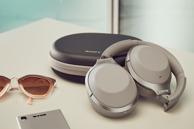 SONY WH 1000XM2 Headset Gold | Milrab.no