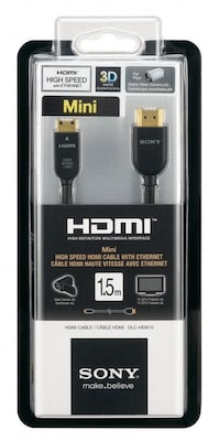 Bilder av Mini-HDMI®-kabel